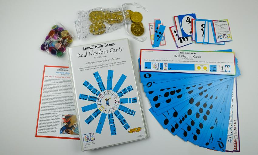 Real Rhythm Cards - Suzuki Strings