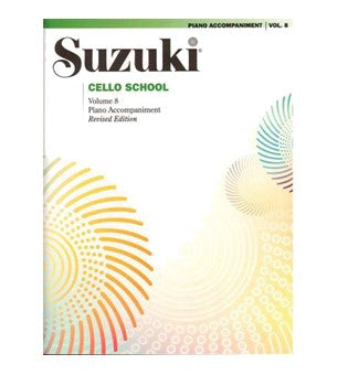 Piano Accompaniments for Suzuki Cello Book Volume 1 - 8 - Suzuki Strings