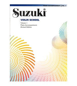 Piano Accompaniments for Suzuki Violin Book Volume 1 -10 - Suzuki Strings