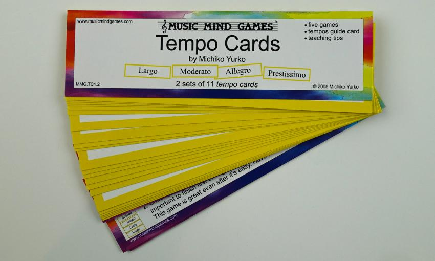 Tempo Cards - Suzuki Strings