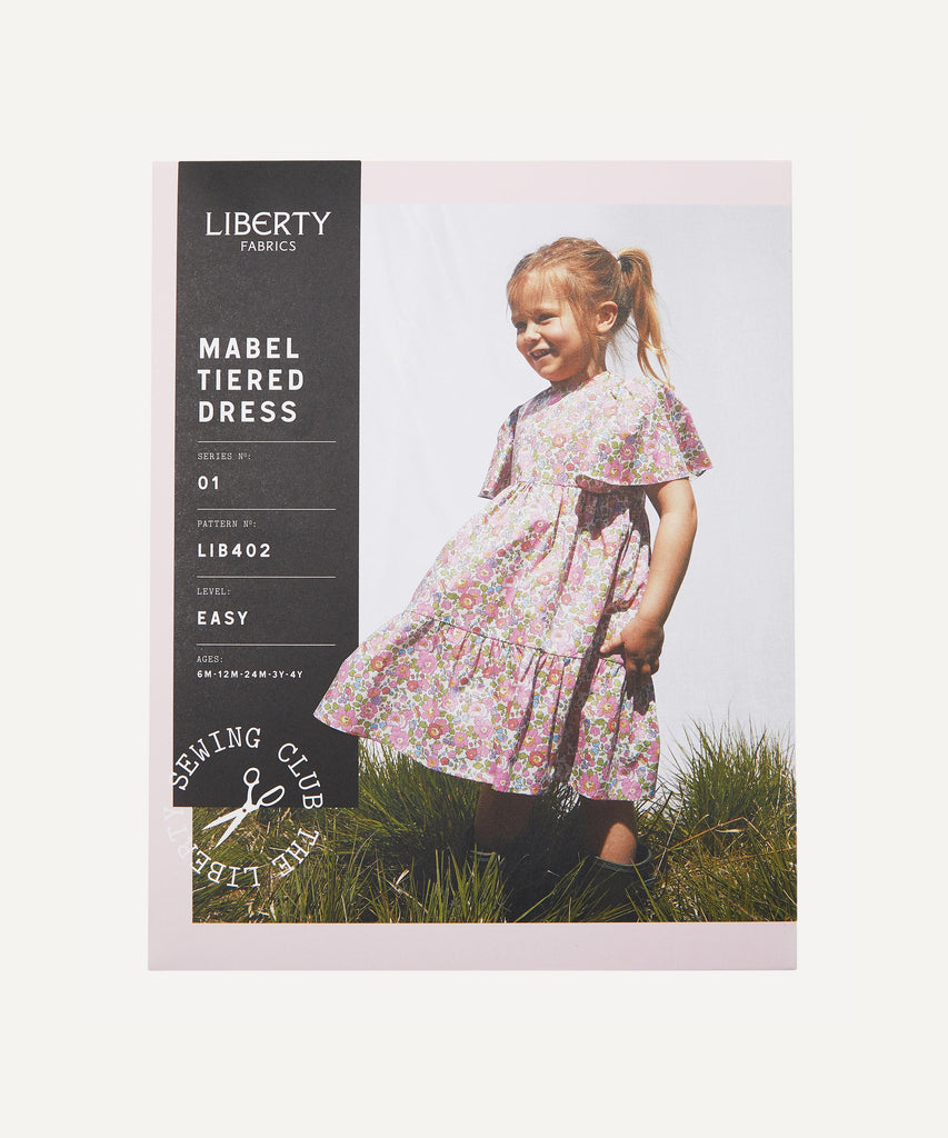 Liberty Fabrics - Mabel Tiered Dress - LIB402