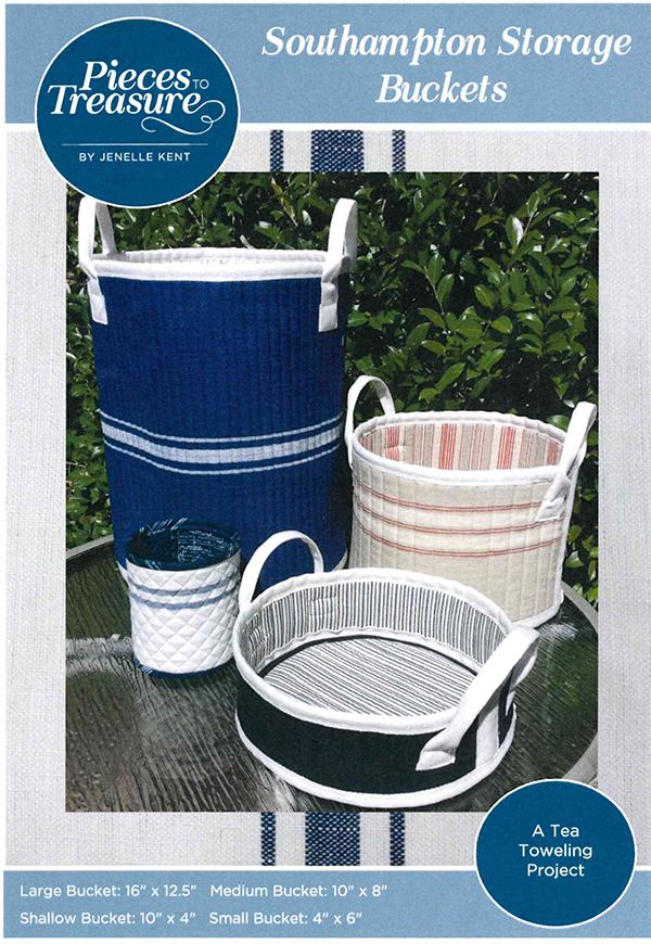 Pieces to Treasure - Southhampton Storage Buckets
