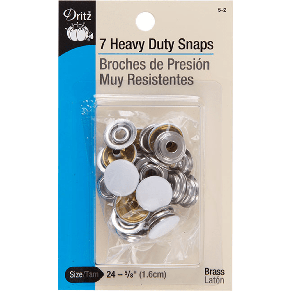 Dritz - Heavy Duty Snaps - 7pc. - Various