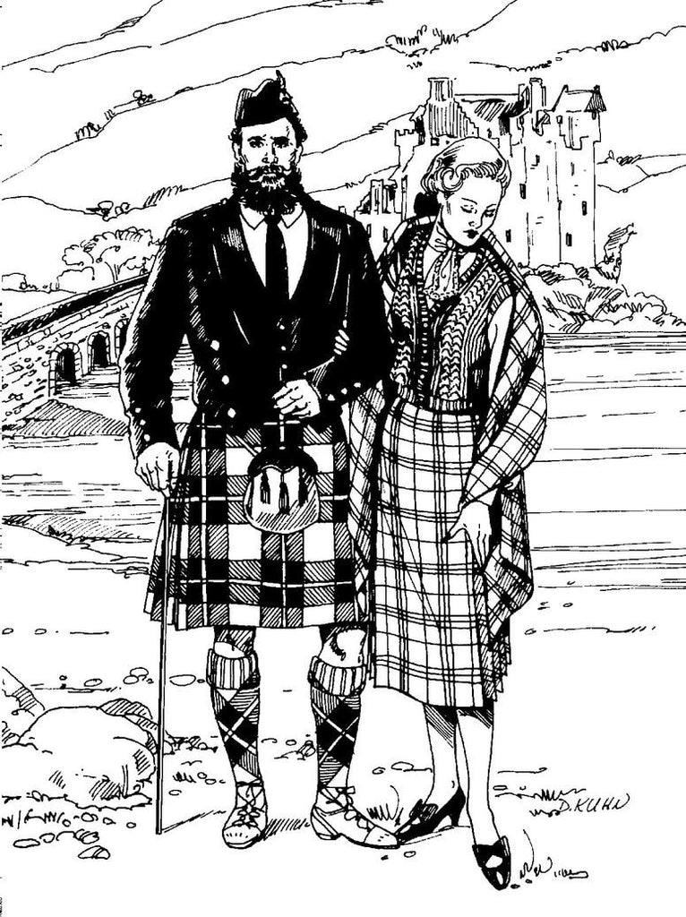 Folkwear - Scottish Kilts - 152