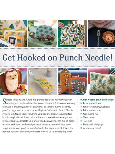 Beginner's Guide to Punch Needle Projects - 26 Accessories and Decorations to Embroider in Relief - Juliette Michelet