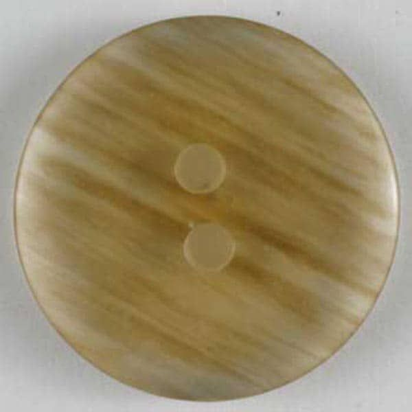 Dill - Fashion Button - Amber - 11mm
