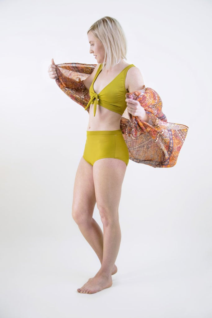 Friday Pattern Company - Vernazza Two Piece
