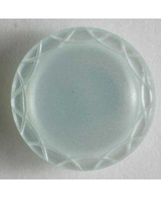 Dill - Pearly Mint Shank Button - 13mm