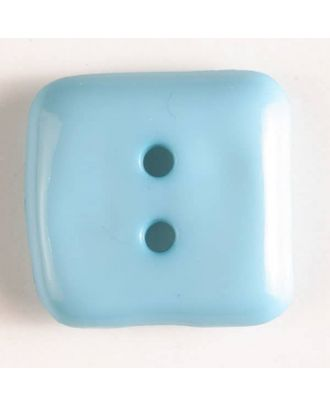 Dill - Light Blue Square Button - 15mm