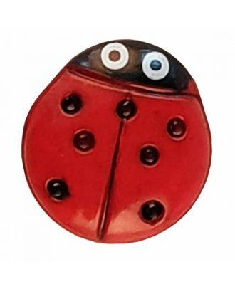 Dill - Ladybug Button - 11mm