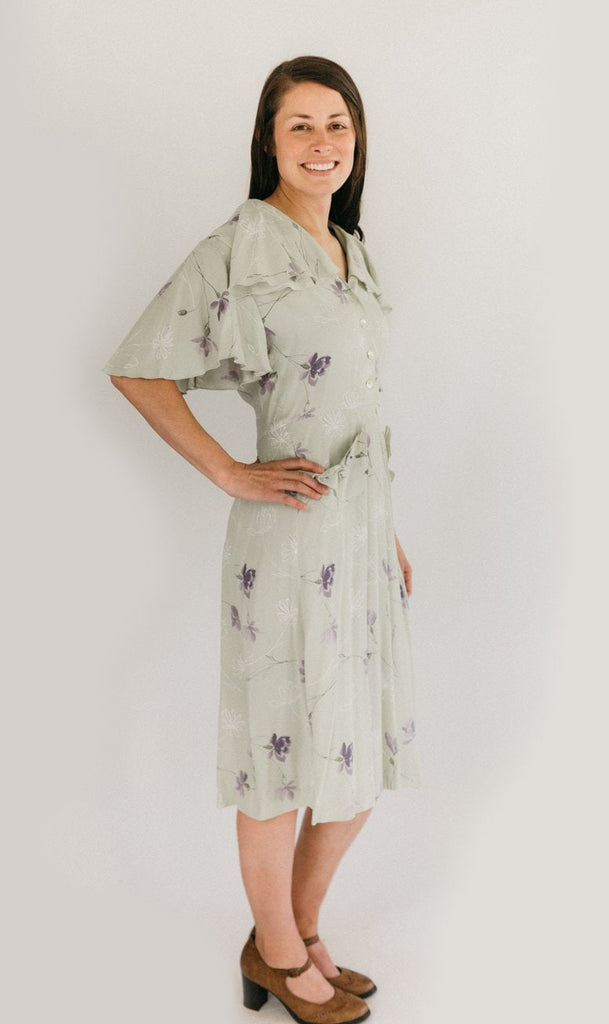 Folkwear - 1930s Day Dress - 249