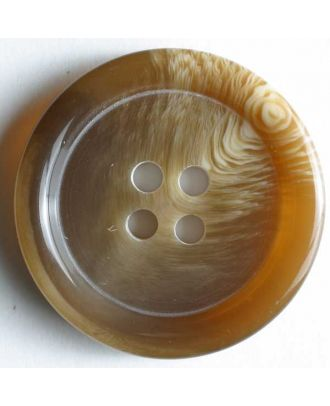 Dill - Semi Gloss Tortoise Shell Button - 25mm