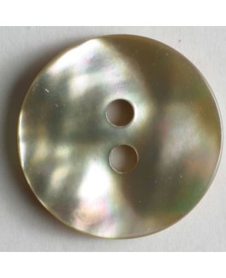 Dill - Natural Shell Button - 13mm