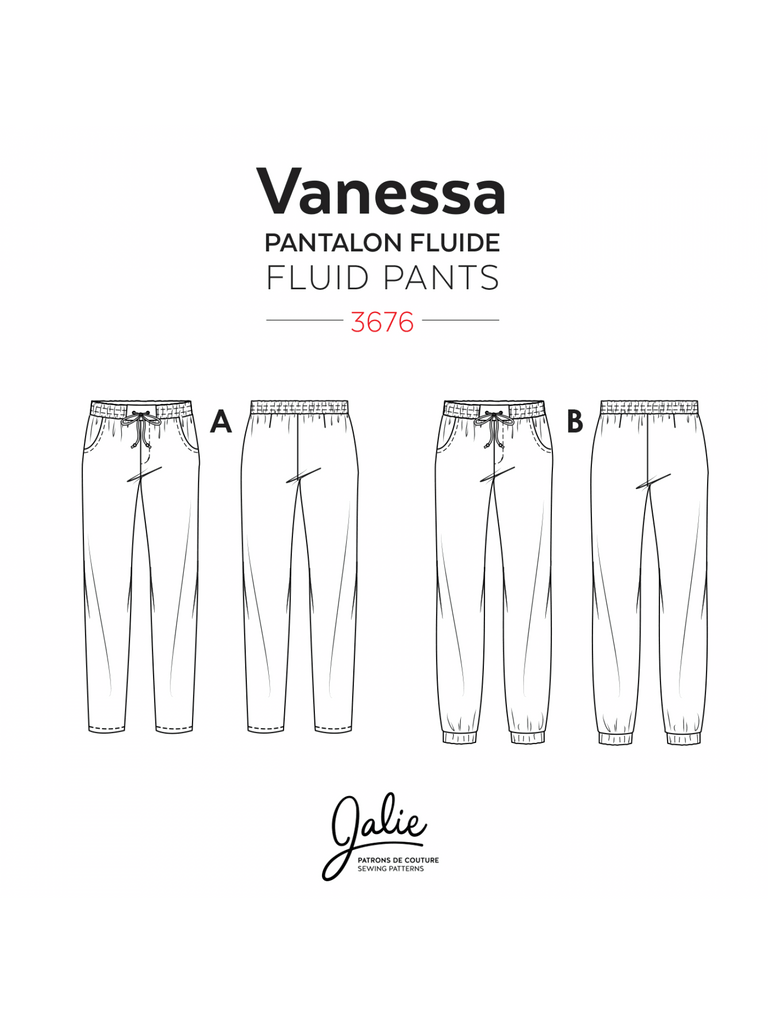 Jalie - Vanessa Fluid Pants - 3676