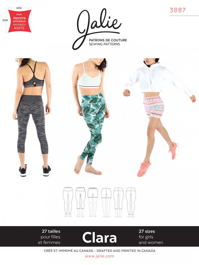 Jalie - Clara High Waisted Leggings - 3887