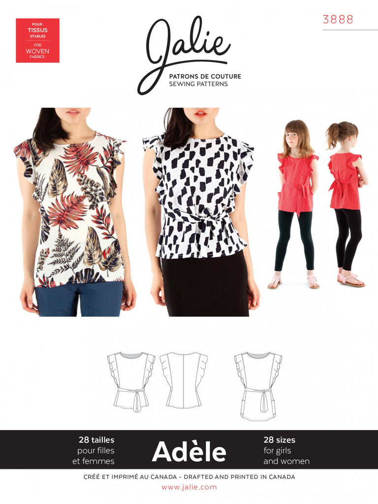 Jalie - Adele Top and Tunic - 3888
