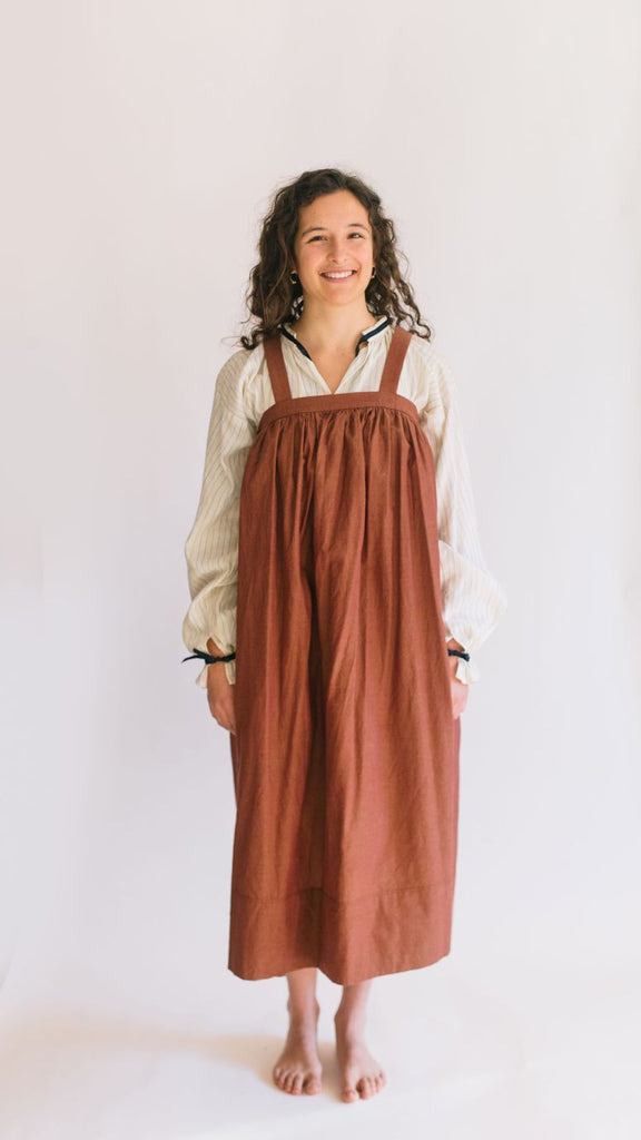 Folkwear - Russian Settlers' Dress - 128