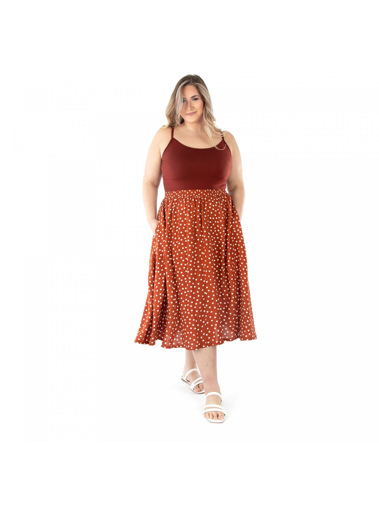 Jalie - GENEVIÈVE Pull-on Gathered Skirt - 4017