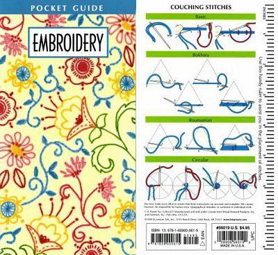 Pocket Guide Embroidery
