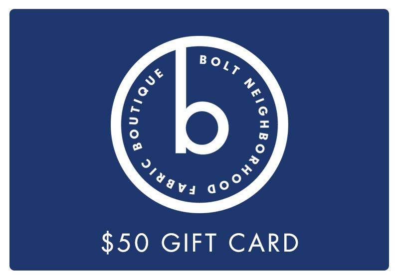 Gift Card for Online Merchandise - $25 - $200