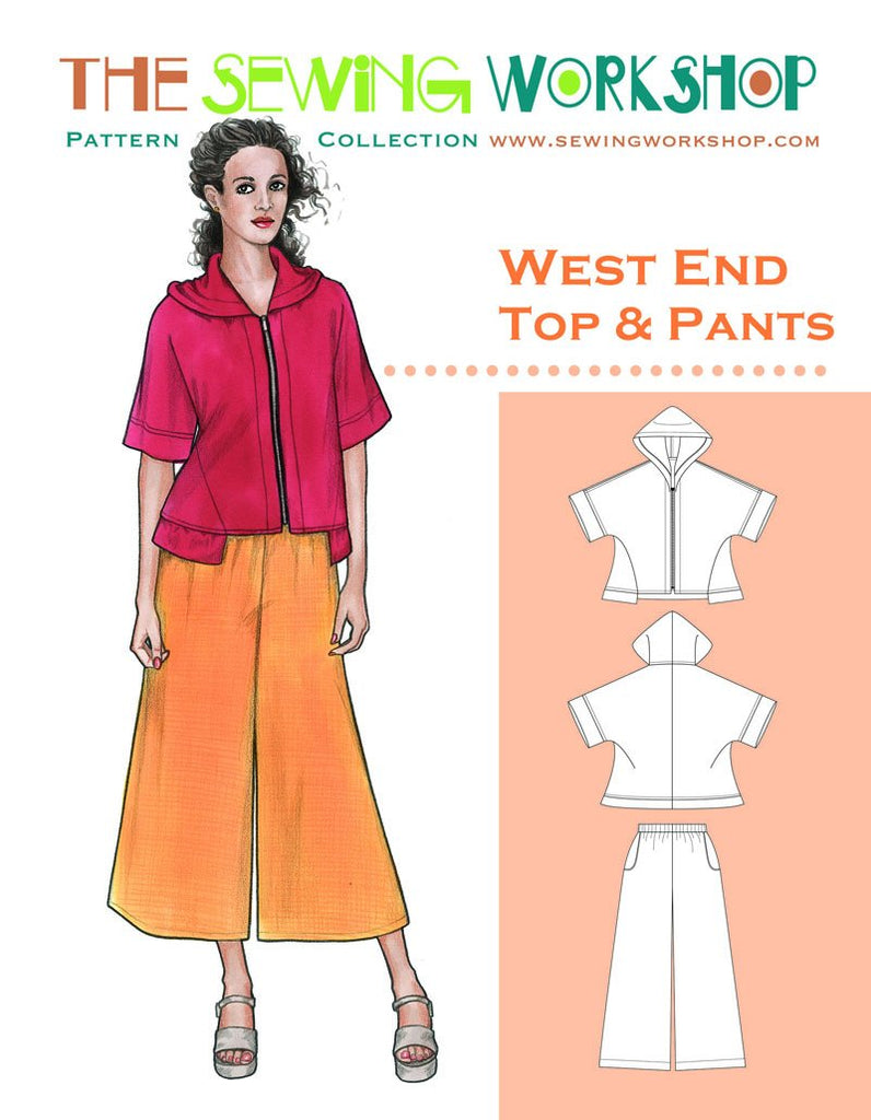 The Sewing Workshop - West End Top & Pants