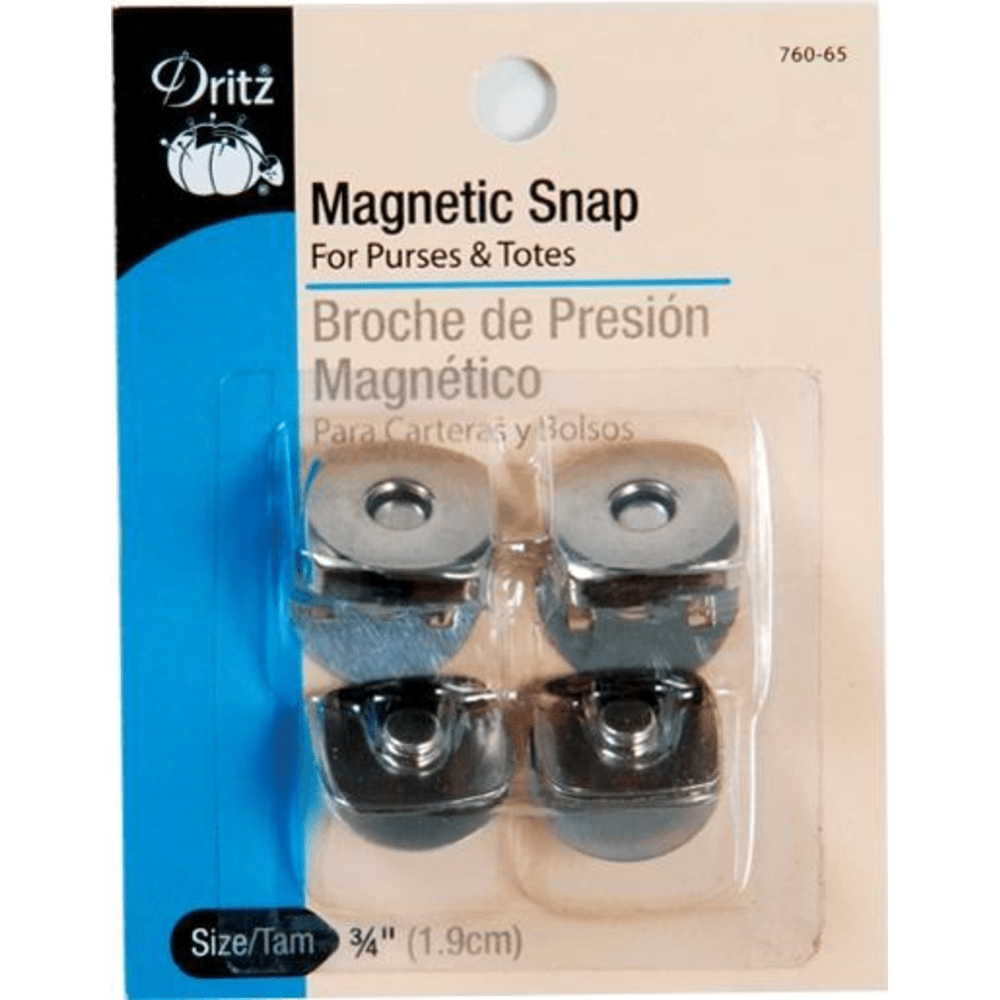 "Dritz - Square Magnetic Snaps - 3/4"" - 2 pc."