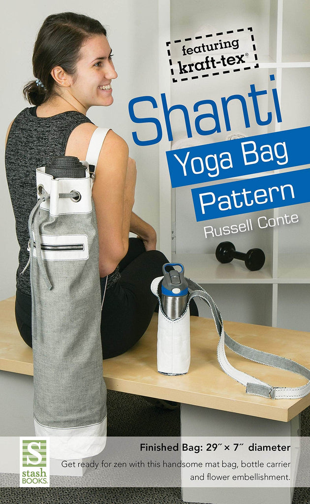 C & T Patterns - Shanti Yoga Bag Pattern - Russell Conte