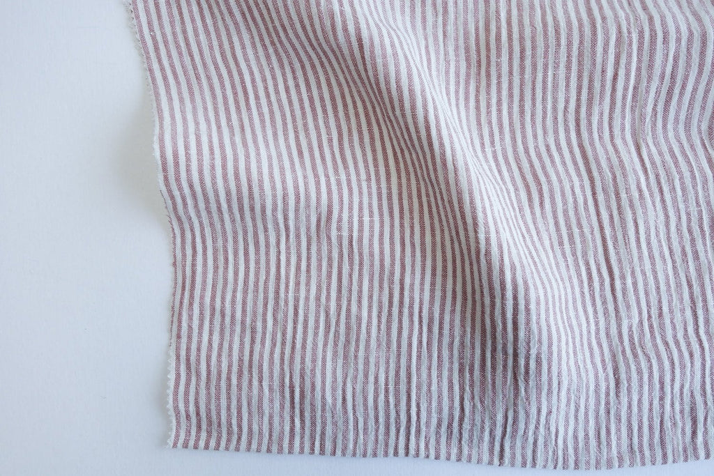 Yarn-Dyed Linen - Striped - Various Colors