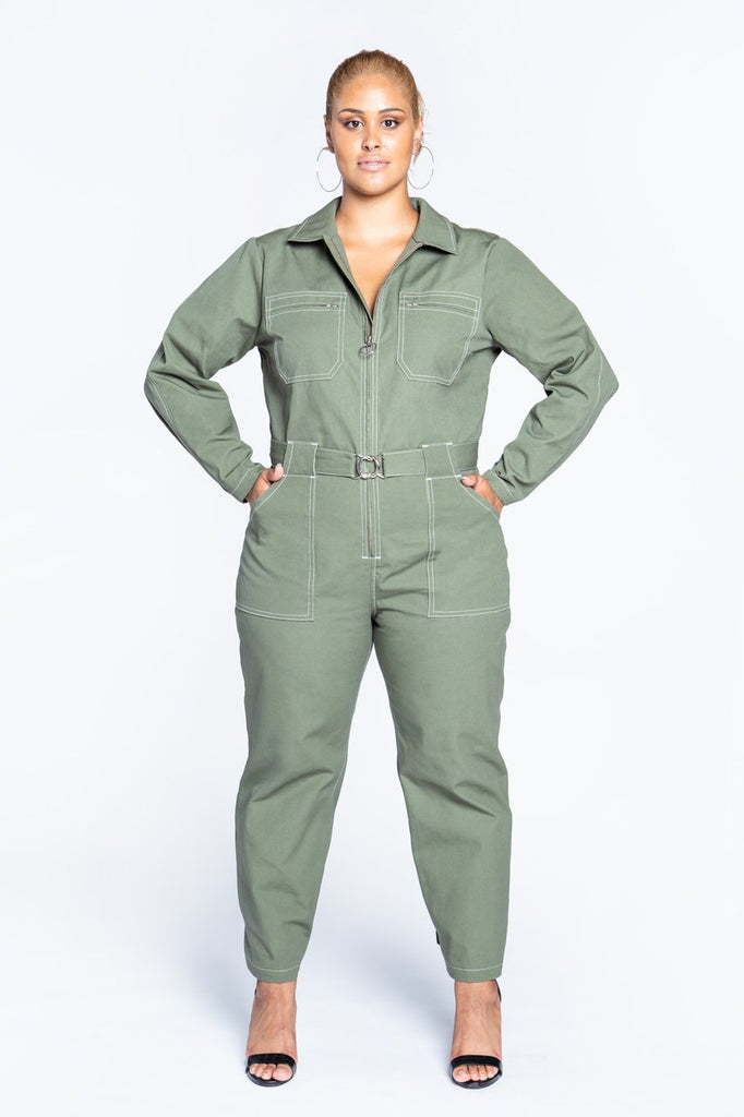 Closet Core Patterns - Blanca Flight Suit