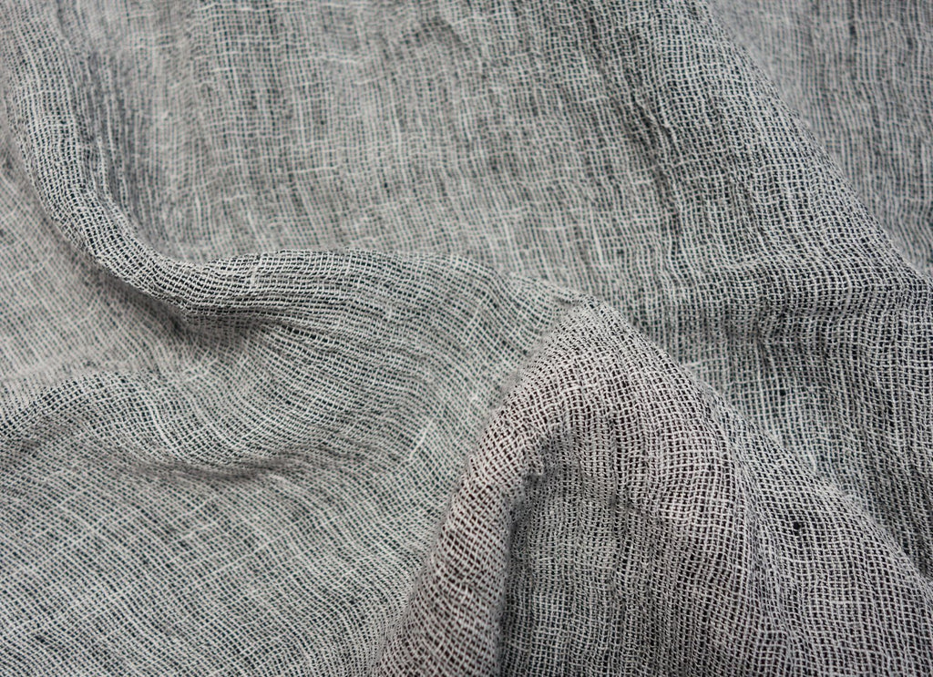 Loose Weave Yarn-Dyed Linen - Various Colors