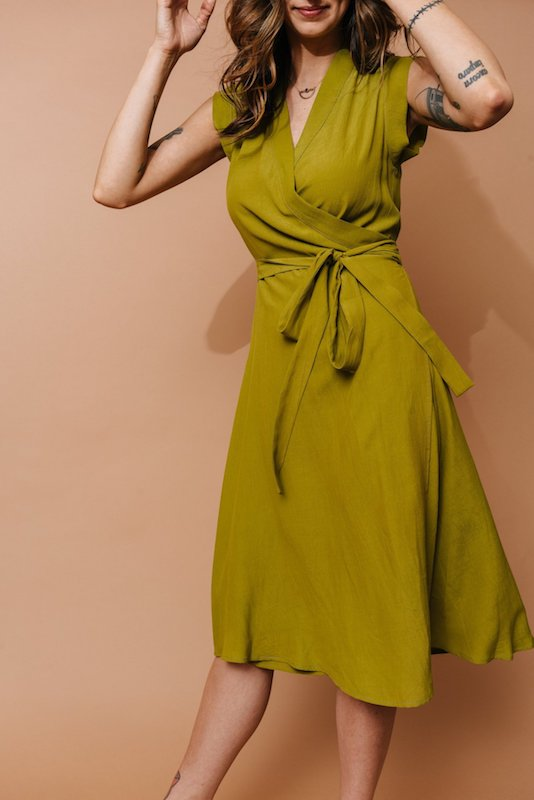 AltarPDX & PFI - Francis Wrap Dress