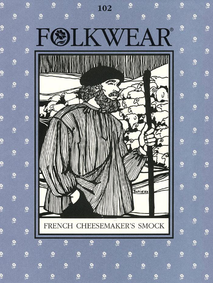 Folkwear - French Cheesemaker's Smock