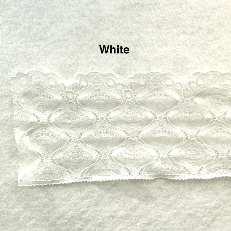 "Non-Stretch Lace - 3 5/8"" - Various"