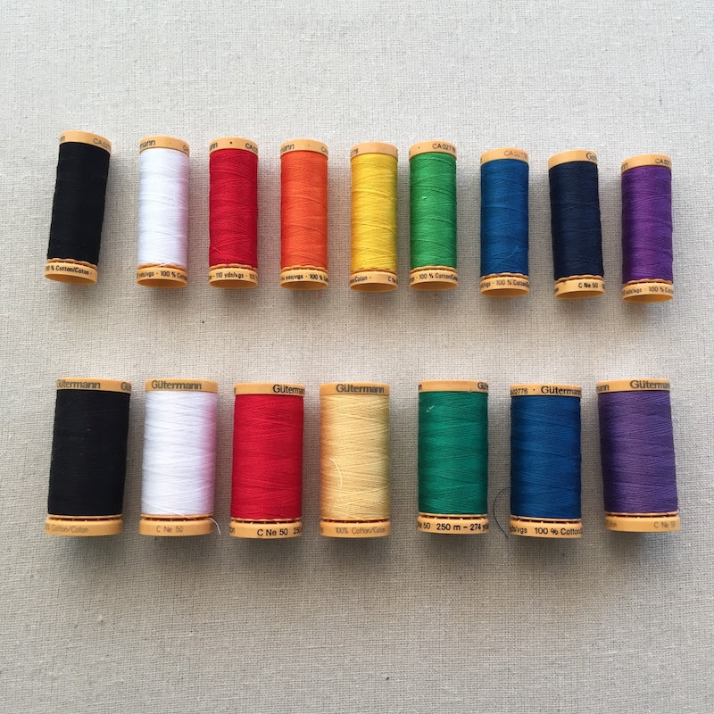 Gütermann Thread - Natural Cotton - Various Types