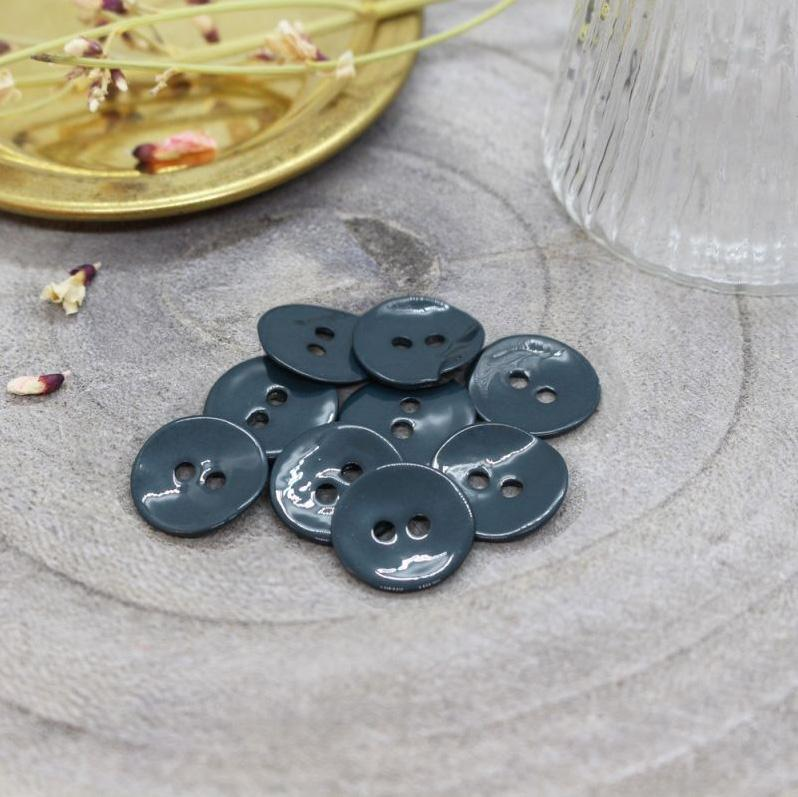 Atelier Brunette - Glossy Button - Forest - Various Sizes