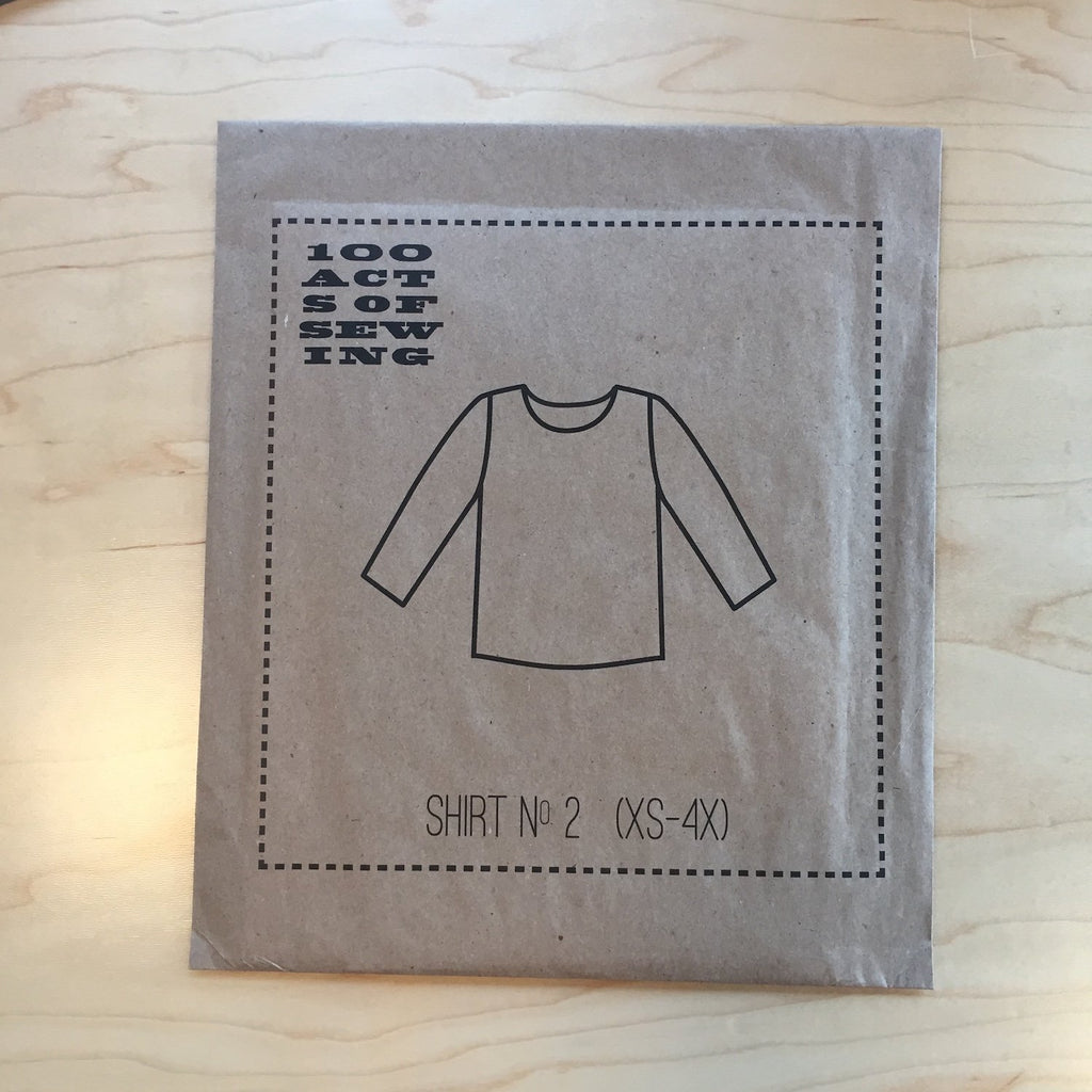 100 Acts of Sewing - Shirt no. 2