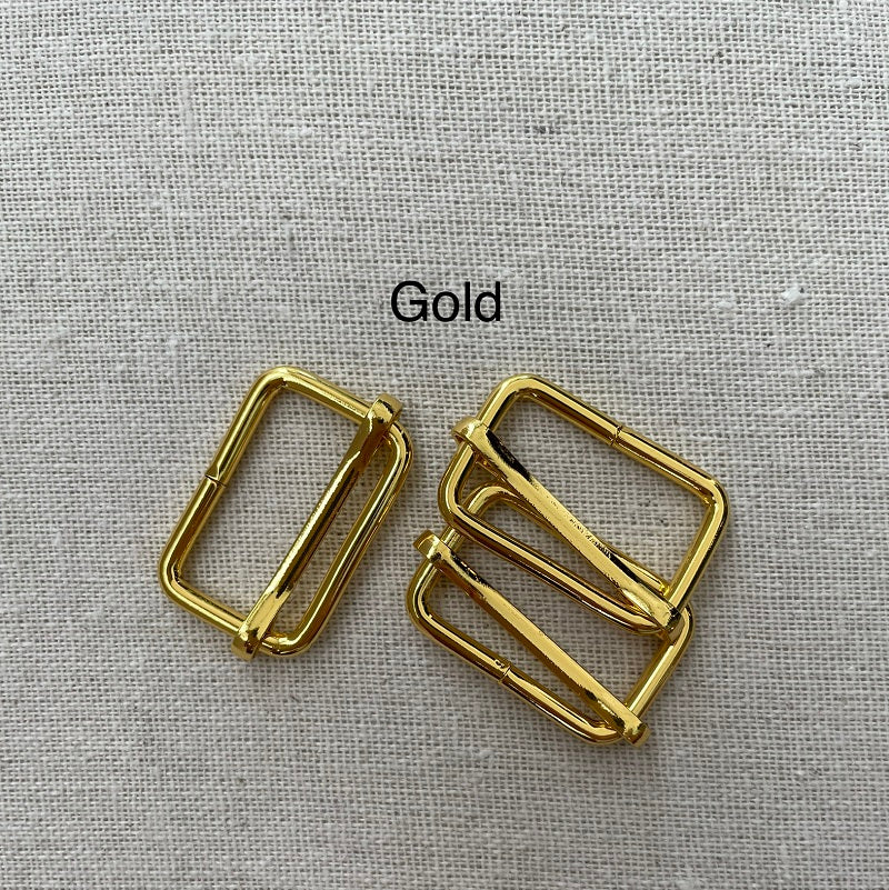 "1 1/2"" Slides - Plated Metal - Various Colors"