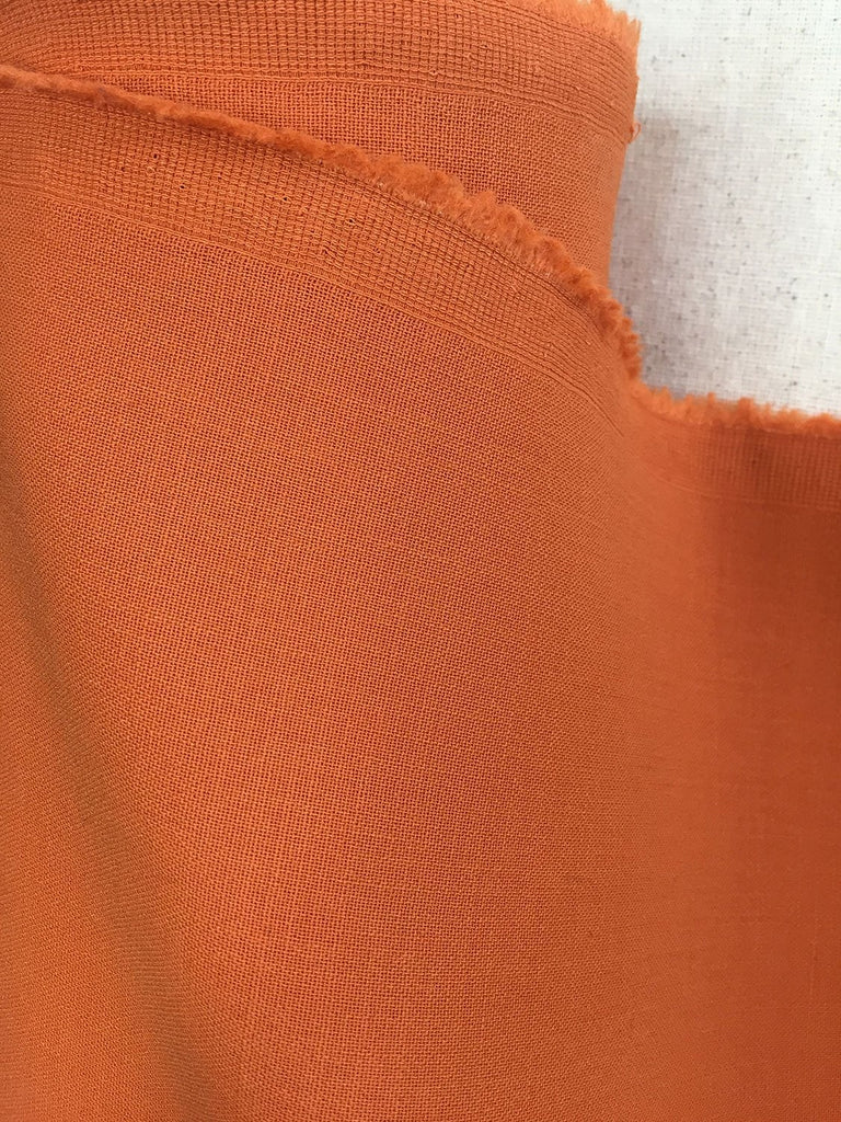 Orange Stretch Wool