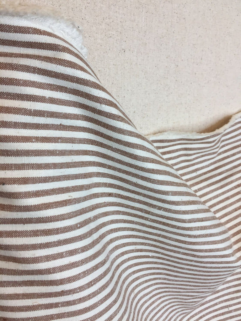 Hemp/Organic Cotton Light Weight Duck-Stripes
