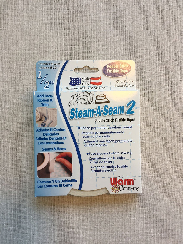 Steam-a-Seam 2 Double-Sided Fusible Tape 1/2""