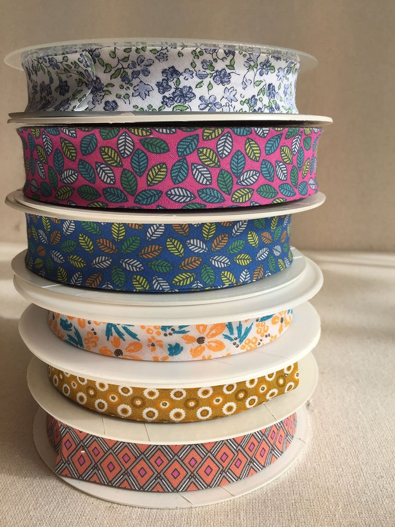 Printed Bias Tape - Various
