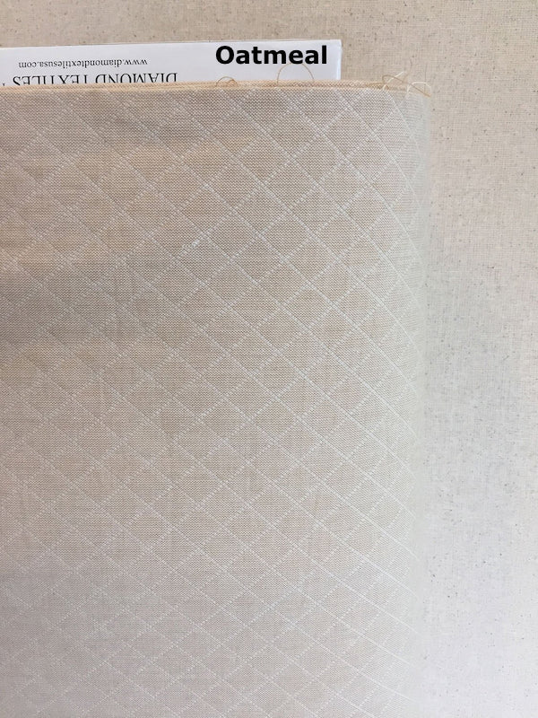 Diamond Textiles - Sandcastle - Quilted Weave