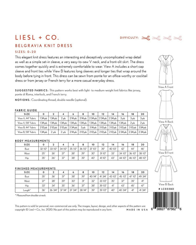 Liesl & Co. - Belgravia Knit Dress