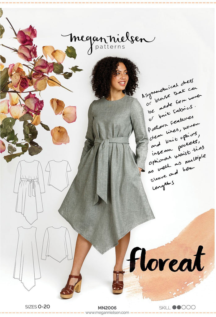 Megan Nielsen - Floreat Dress & Top