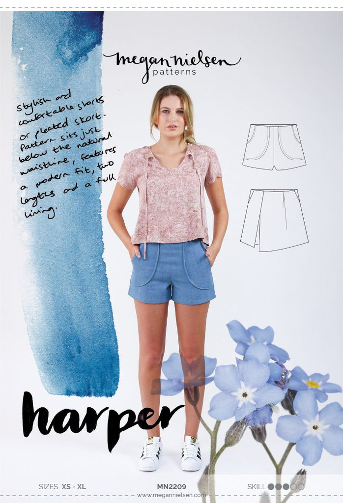Megan Nielsen - Harper Shorts and Skirt