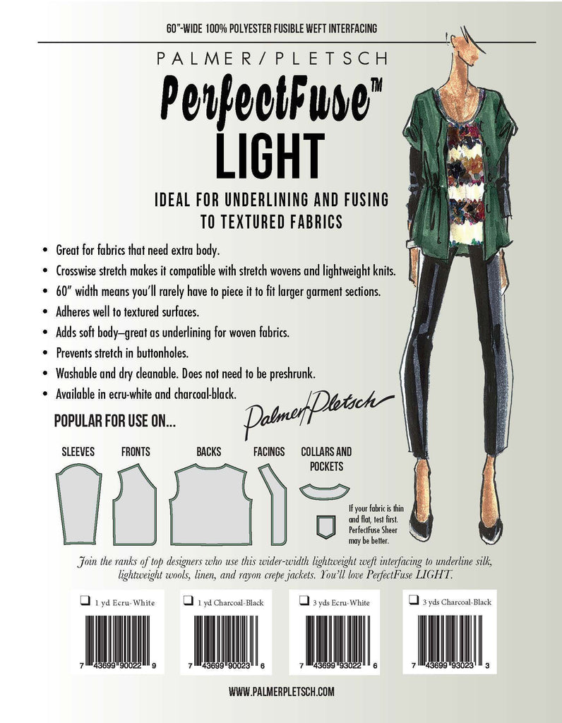 Palmer and Pletsch - PerfectFuse - Light - Black or White