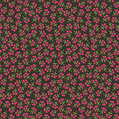 Art Gallery - Rayon - Open Heart - Sweet Floret - Cerise