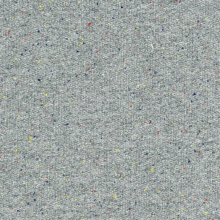 Robert Kaufman - French Terry - Gray Speckle