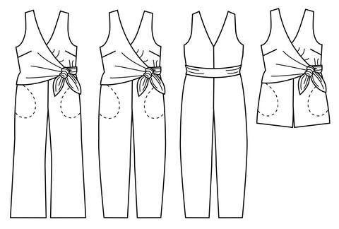 Papercut Patterns - Sierra Jumpsuit