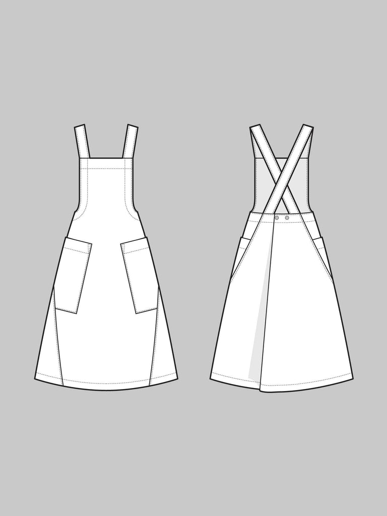 The Assembly Line - Apron Dress